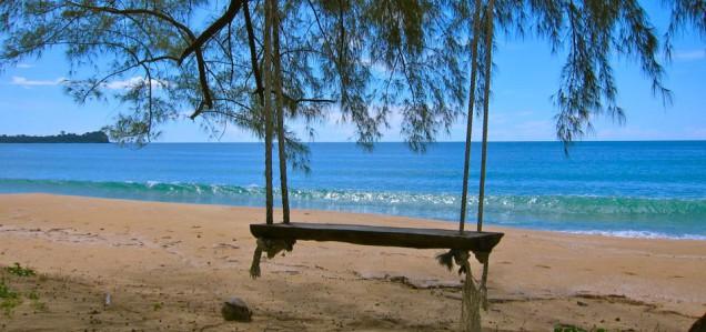 Koh Ra Schaukel am Strand