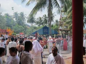 Vegetarisches Festival Ritus