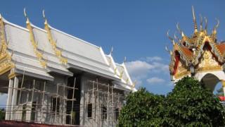 bang niang tempel rohbau