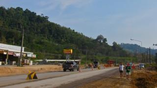 Highway 4 - Petchakasem Rd Baustelle