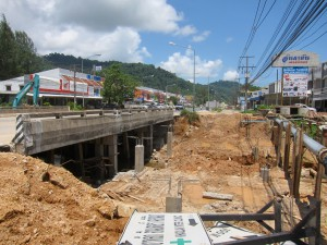 Bang Niang Brückenarbeiten Mai 2015