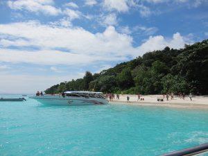Speedboot auf Tachai