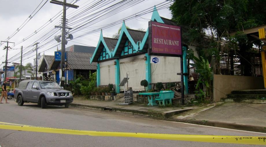 Takieng Restaurant nach Anschlag