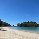 Lagune und Strand Kam