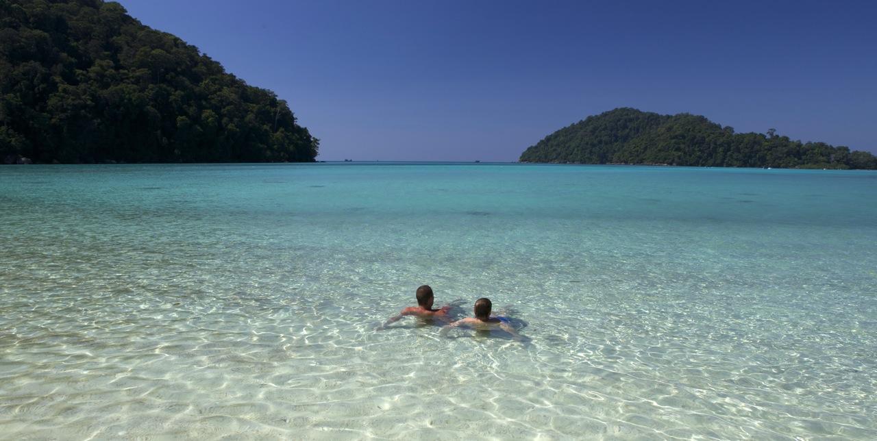 Surin Inseln Strand