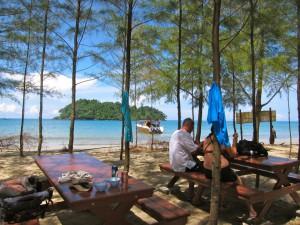dining area koh prathong