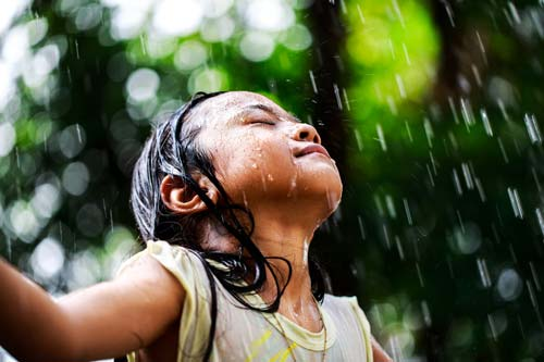 Den Regen auf Khao Lak genießen