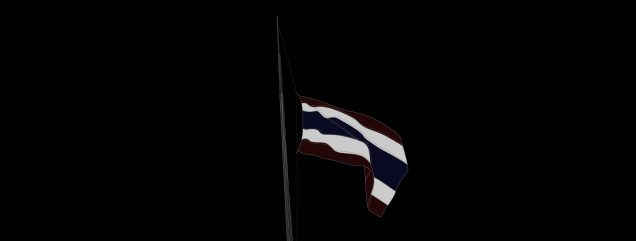 Staatstrauer in Thailand
